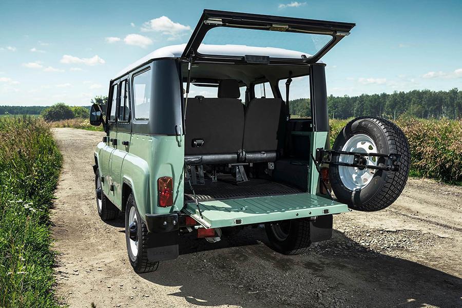 «УАЗ Хантер» стал грузовым автомобилем