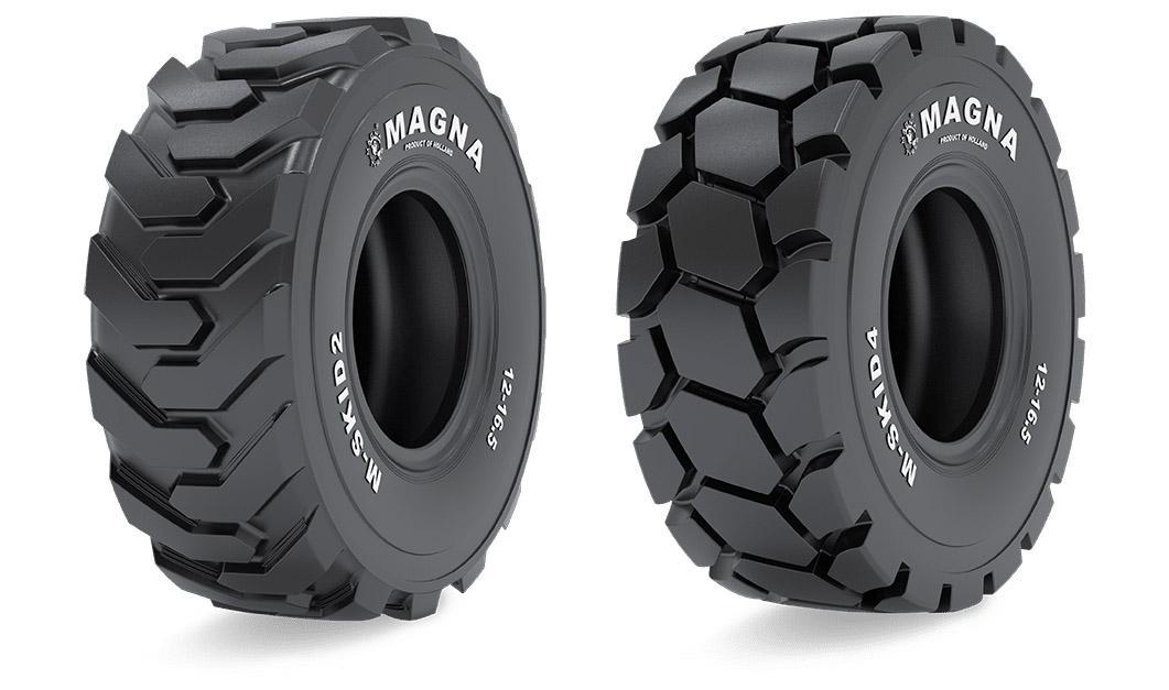 Magna Tyres представила новые модели шин для минипогрузчиков