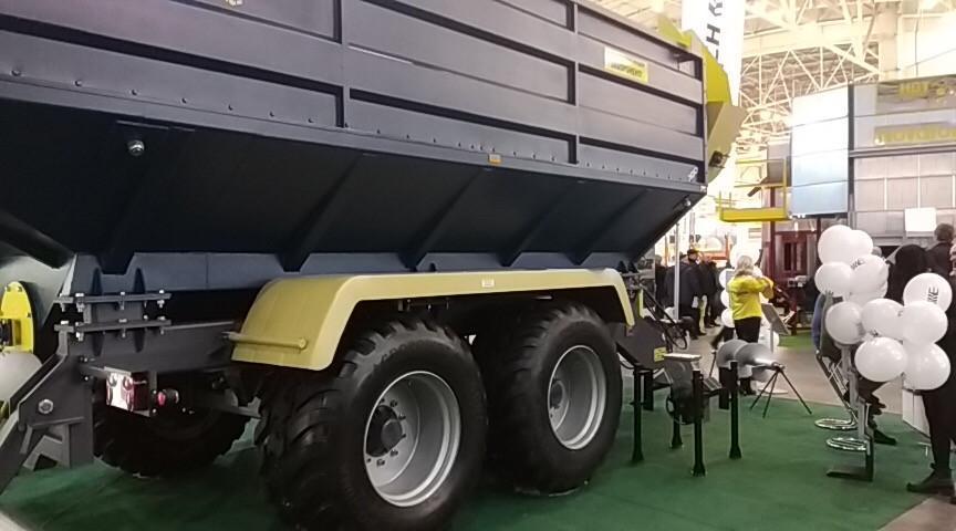 Шины Dneproshina AGRоPower представили на выставке «Зерновые технологии 2019»