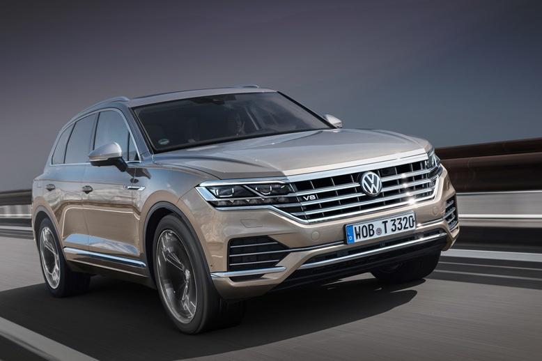 На Volkswagen Touareg установили двигатель V8
