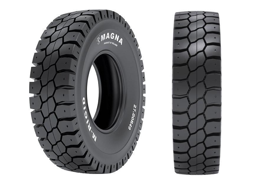 Magna разработала шины для карьерных самосвалов Caterpillar, Komatsu, Terex и Hitachi