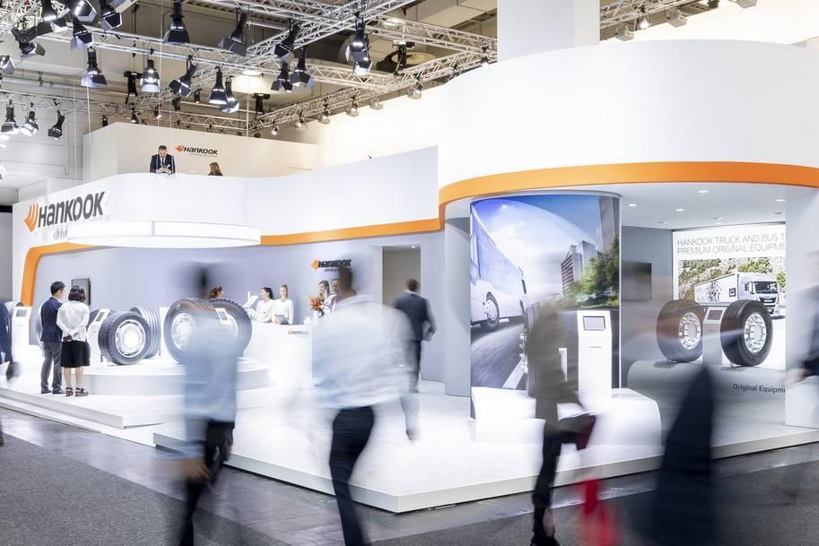 Hankook примет участие в более чем 15 европейских выставках грузовых автомобилей 2019 года