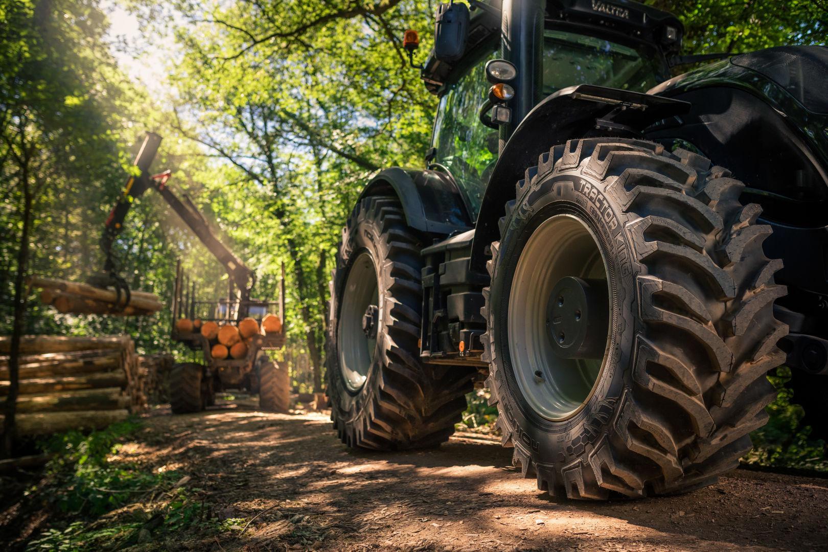 Nokian Tyres расширяет границы применения тракторных шин Nokian Tractor King