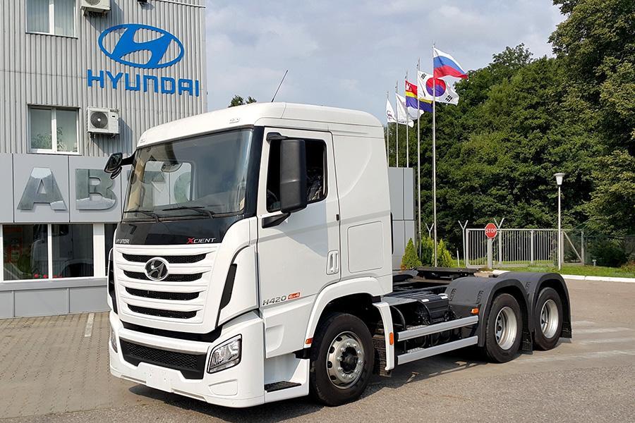 Hyundai локализовала в России седельный тягач