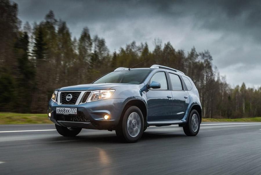Nissan Terrano оснастили новой мультимедийной системой
