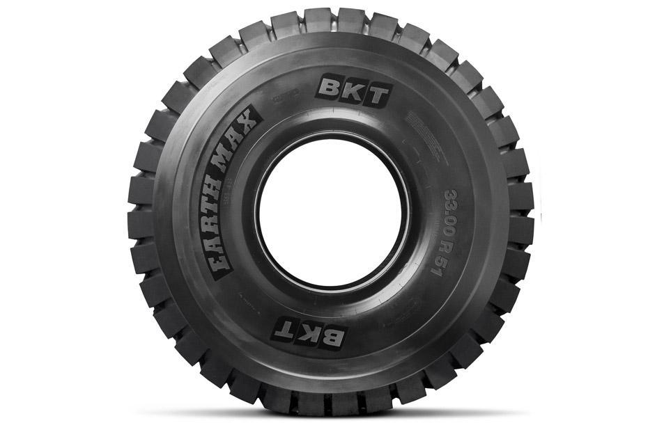 BKT привезет на выставку в Мюнхен гигантскую шину Earthmax SR 46
