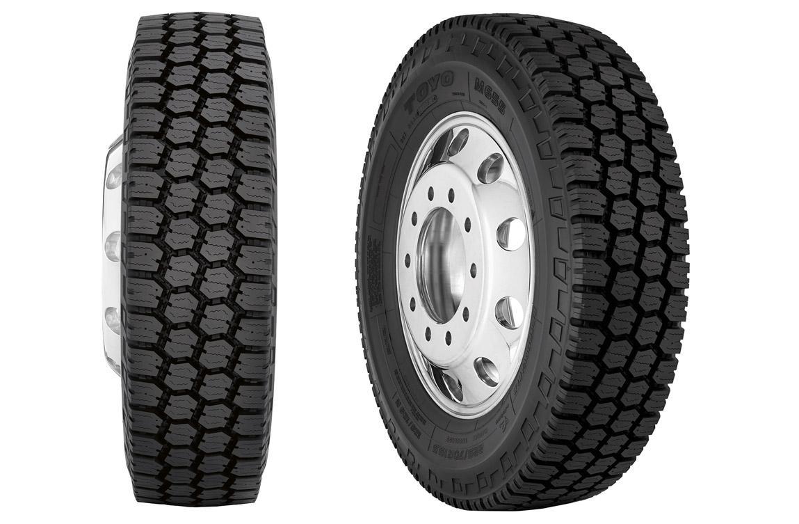 Toyo Tires разработала всепозиционную всесезонку M655 для грузовых автомобилей