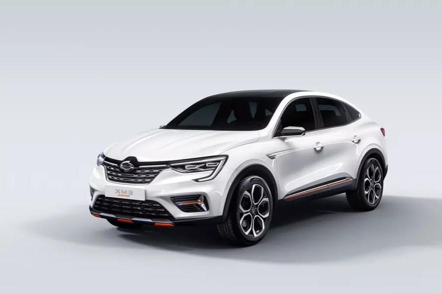 Renault Arkana показали в Южной Корее