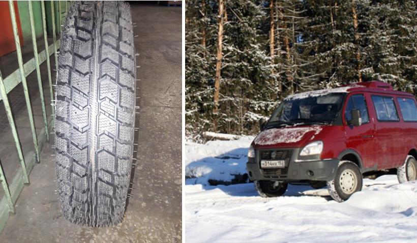 Nortec разработала новую зимнюю шину LT-610 для «Газелей» и «Соболей»