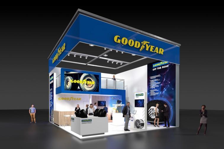На выставке в Германии Goodyear представит новые шины и решения для строительной техники