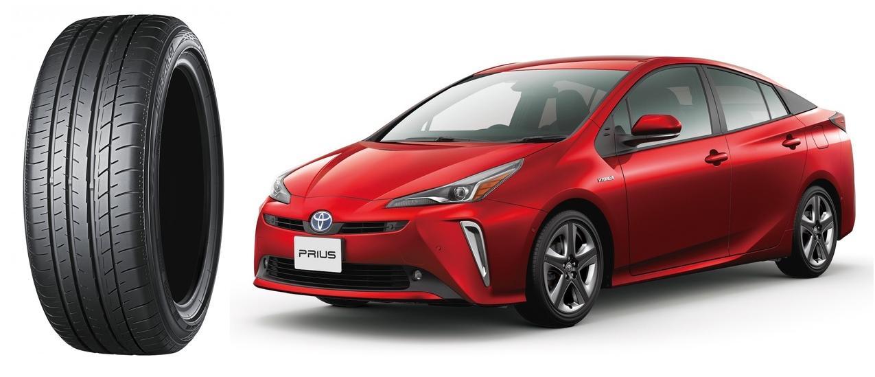 Новые гибриды Toyota Prius обуют в экошины Yokohama BluEarth-GT AE51