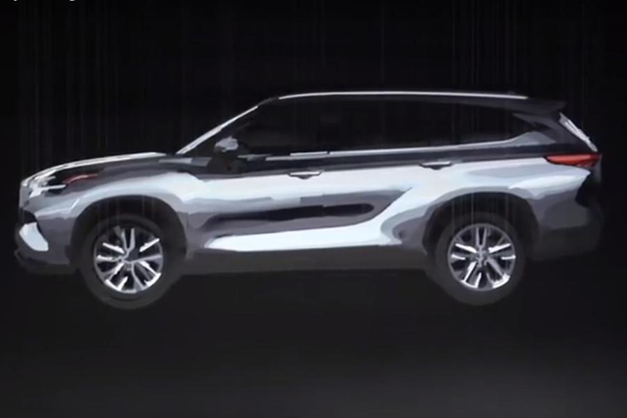 Toyota показала изображение нового Highlander