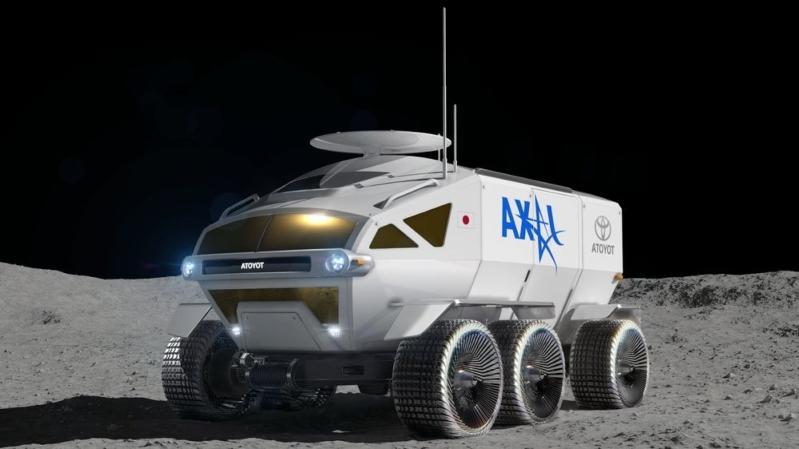 Bridgestone разработает шины для лунного ровера Toyota