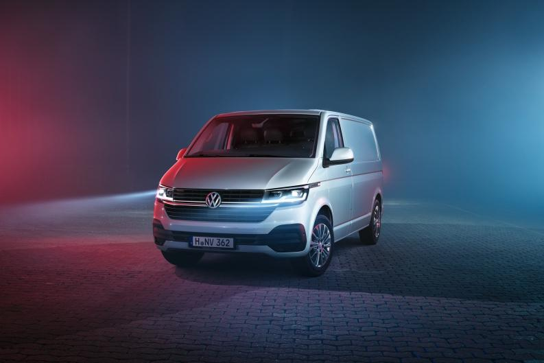 Volkswagen обновил семейство Transporter