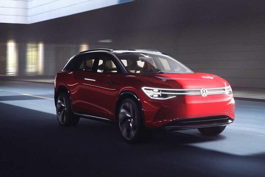 Автосалон в Шанхае 2019: Volkswagen ID Roomzz
