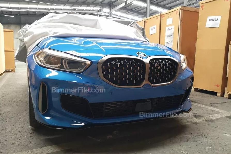 Фотошпионы частично рассекретили BMW 1-Series