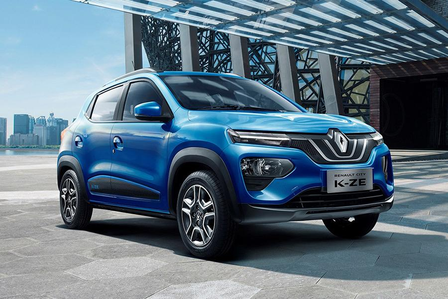 Автосалон в Шанхае 2019: Renault City K-ZE