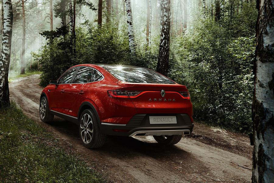 Стали известны модификации кросс-купе Renault Arkana