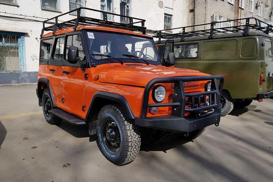 УАЗ выпускает экспедиционный «Хантер»