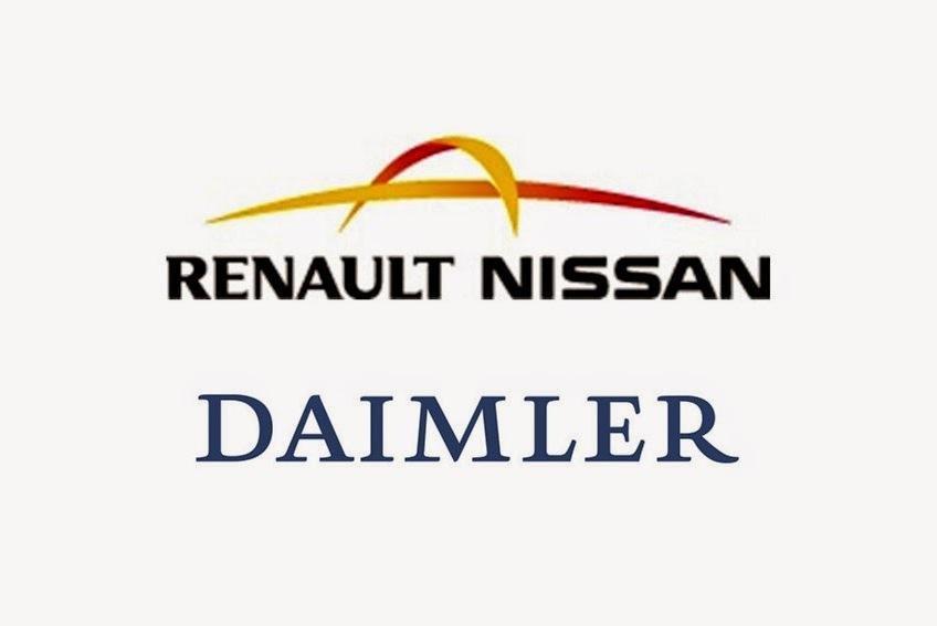 Daimler прекратит сотрудничество с Renault-Nissan