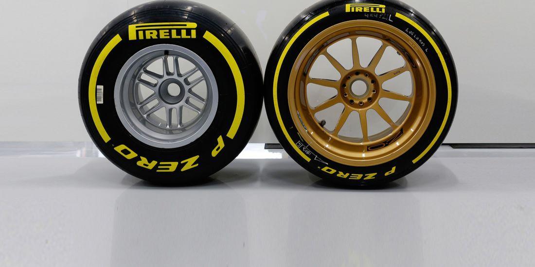 Ferrari, Mercedes и Renault построят «мулы» для тестов 18-дюймовых шин Pirelli