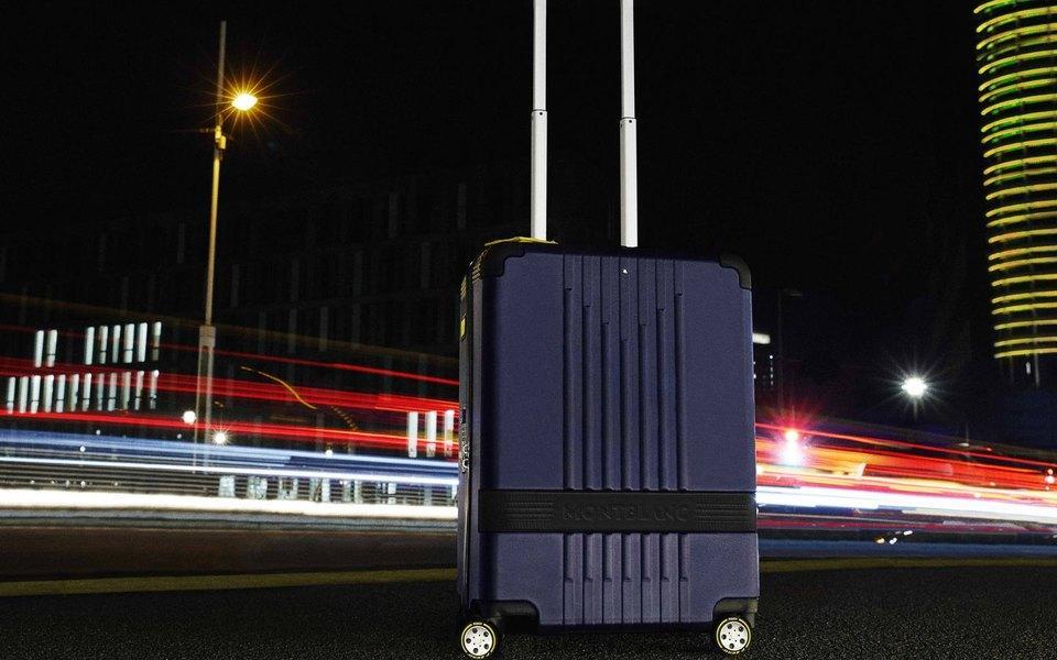 Montblanc и Pirelli представили коллекцию чемоданов на колесах P Zero