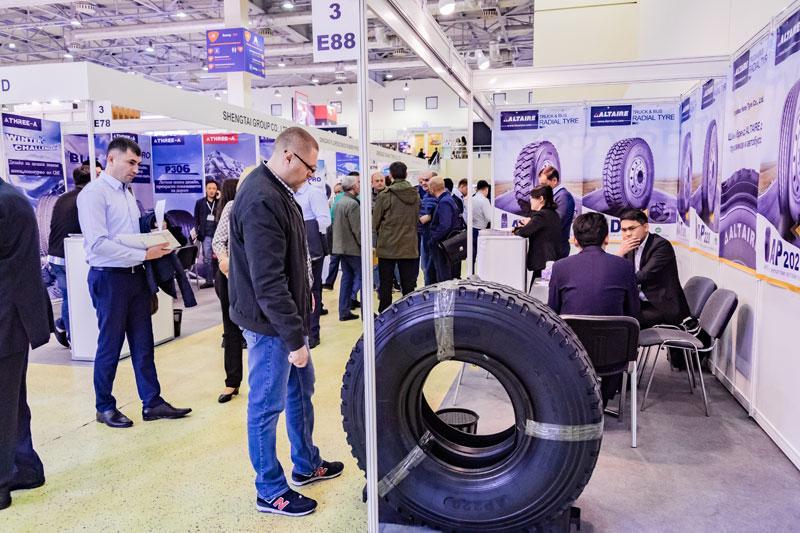 В выставке «Шины, РТИ и каучуки-2019» приняли участие 150 компаний