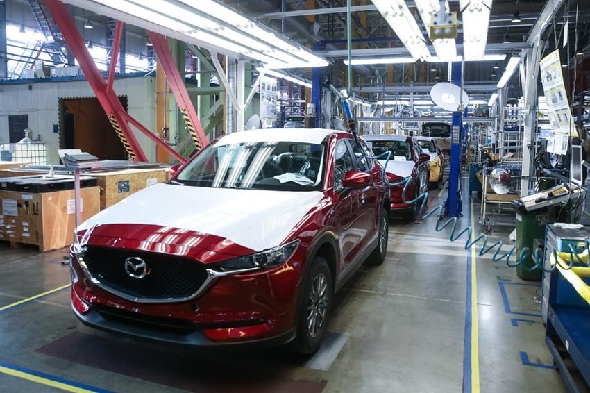 Российский завод Mazda может стать нерентабельным
