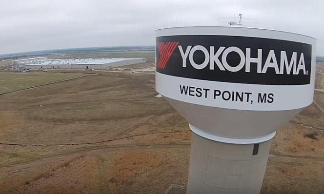 Завод Yokohama в американском Уэст-Пойнте не может выйти на проектную мощность