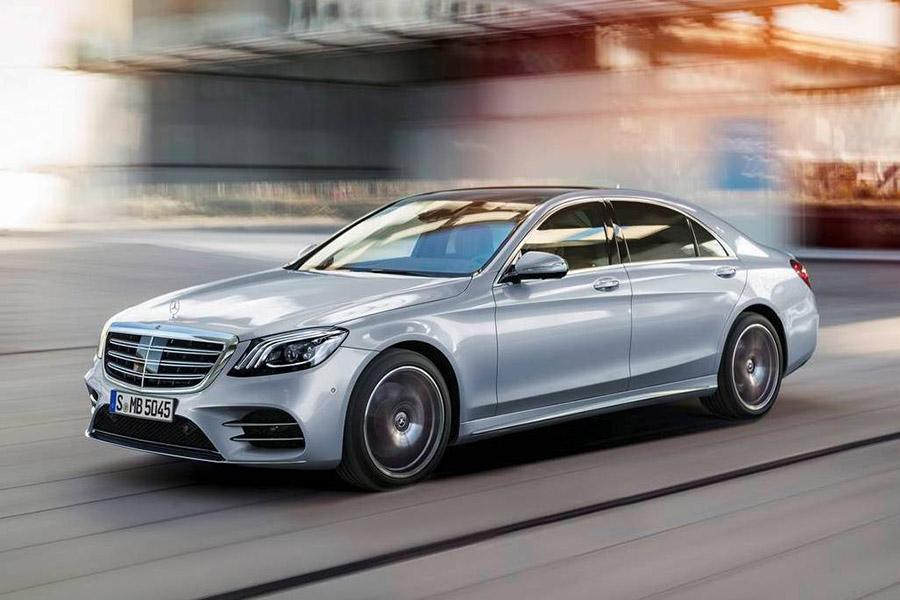 Mercedes S-Class отзывают в России