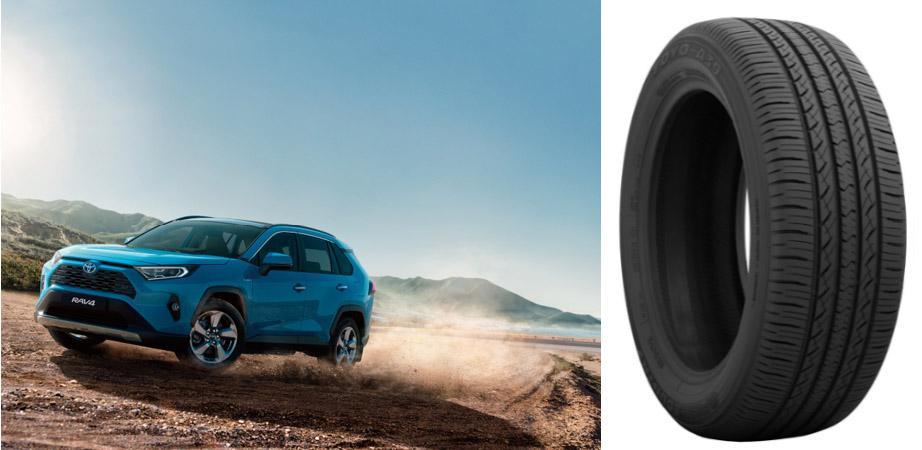 Toyota Motor выбрала шины Toyo Open Country для североамериканской спецификации RAV4