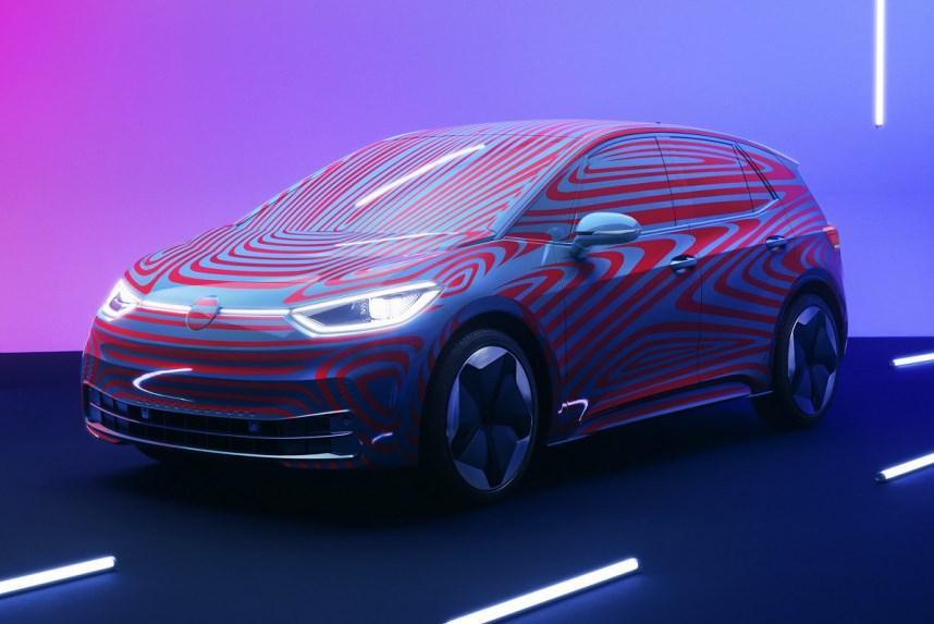 Серийный Volkswagen ID.3 рассекретили частично