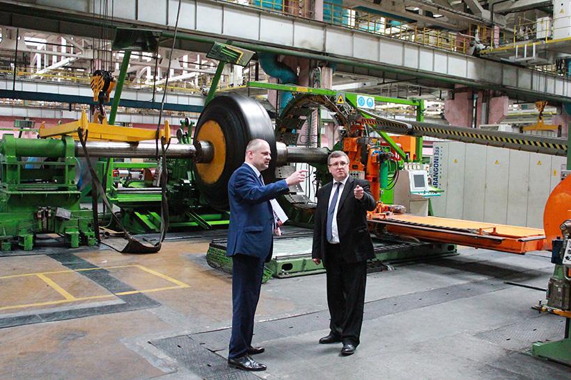 Председатель белорусского Госкомитета по науке и технологиям посетил «Белшину»