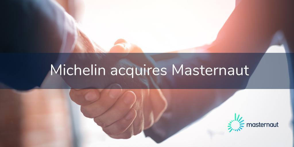Британская Masternaut вошла в состав Michelin Group
