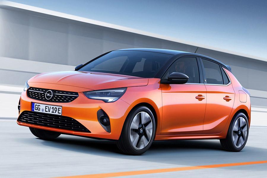Представление Opel Corsa начали с электромобиля