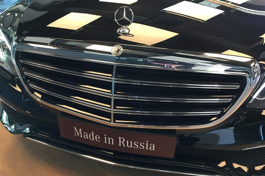 Российский завод Mercedes начал собирать товарные автомобили