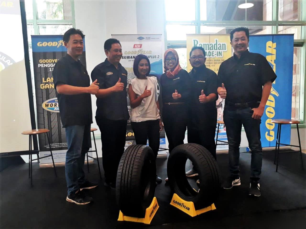 Goodyear представила в Индонезии новые пассажирские шины Assurance DuraPlus 2