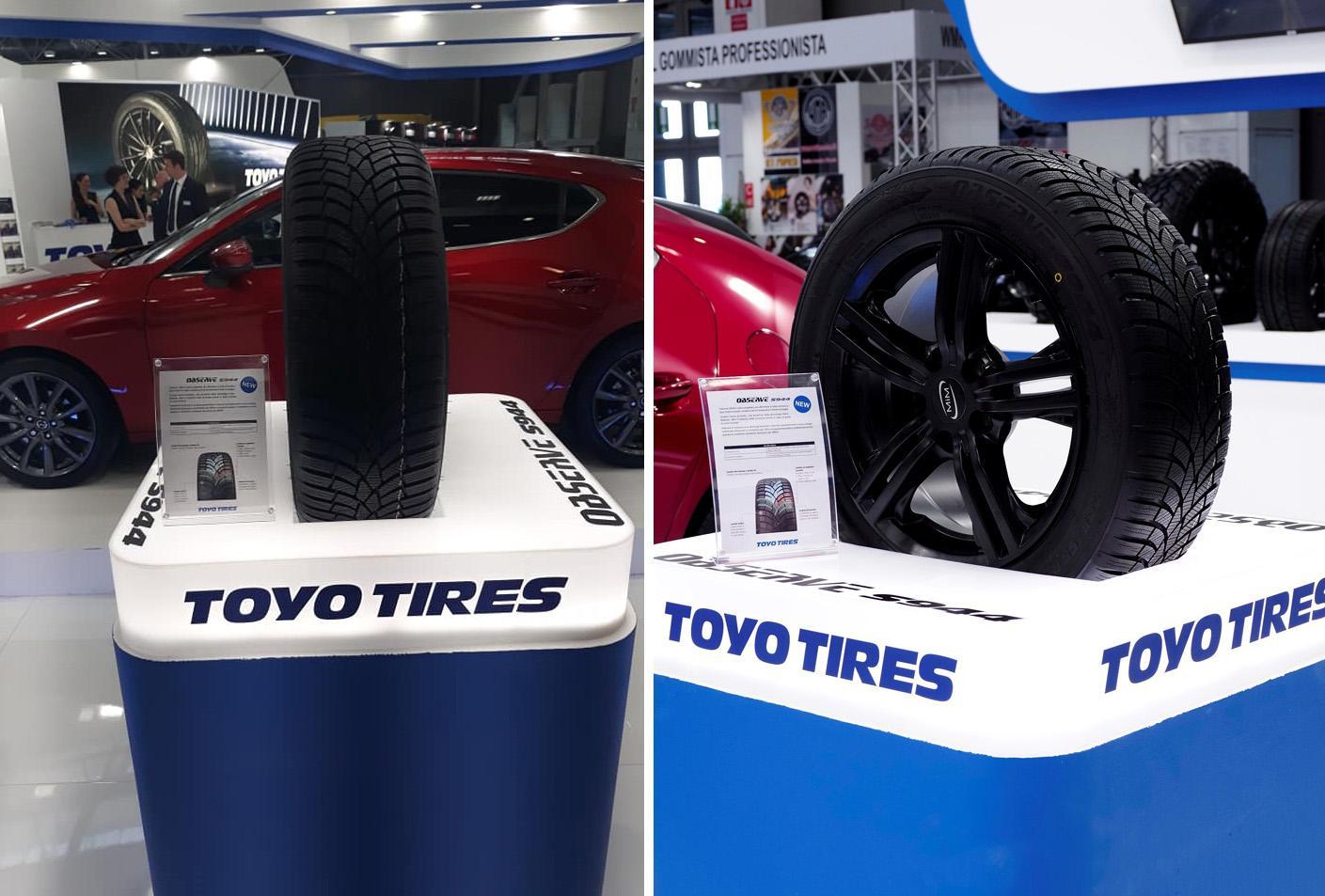 Toyo Tires дебютировала на выставке Autopromotec с новой зимней шиной Observe S944