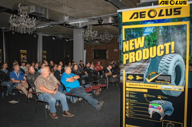 Aeolus представила в Южной Африке TBR-шины серии NEO