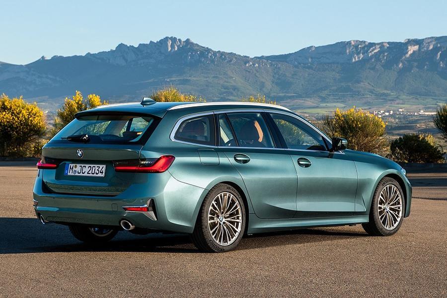 Раскрыта внешность BMW 3-Series Touring