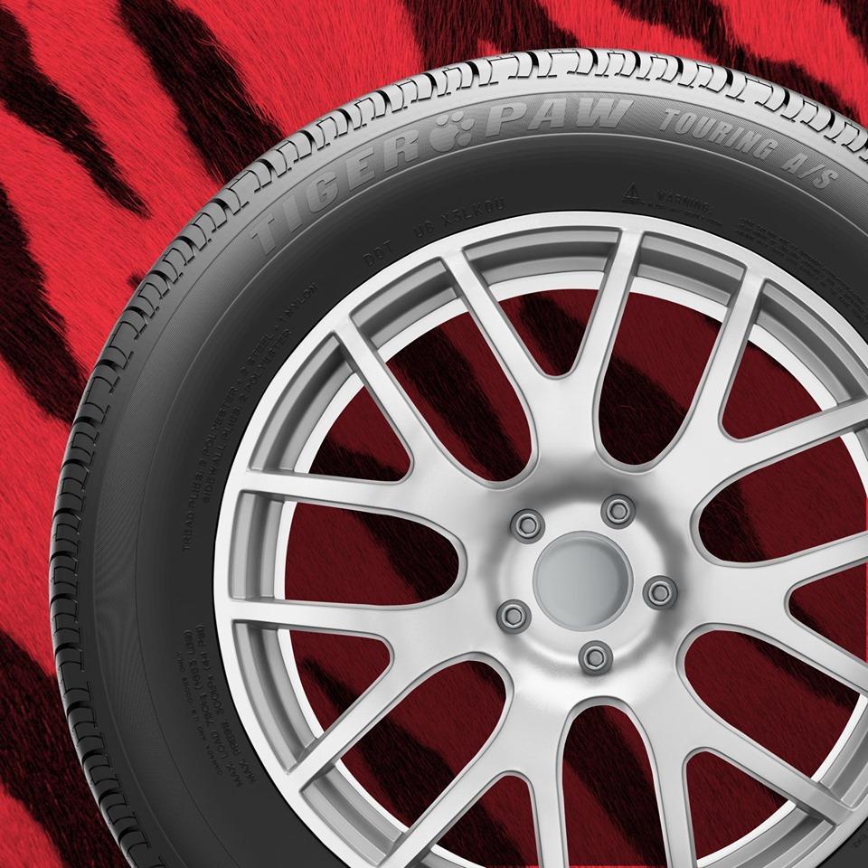 На рынок Америки выходят новые всесезонные шины Uniroyal Tiger Paw Touring A/S