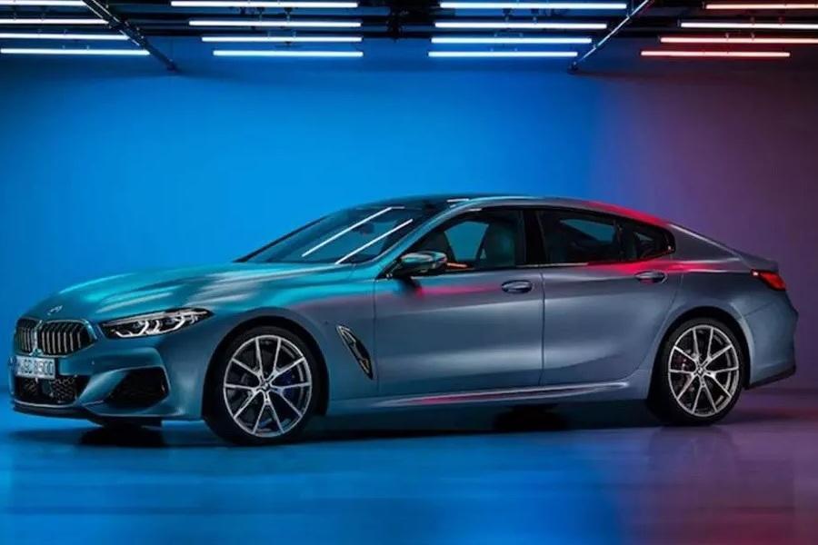 В сети оказались снимки BMW 8-Series Gran Coupe