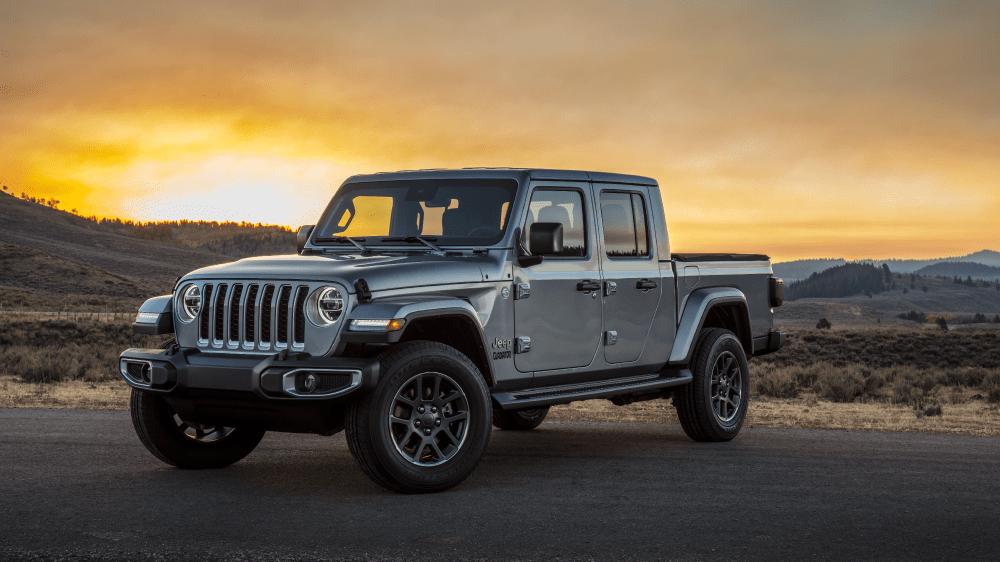 Новые пикапы Jeep Gladiator 2020 обуют в шины линейки Bridgestone Dueler