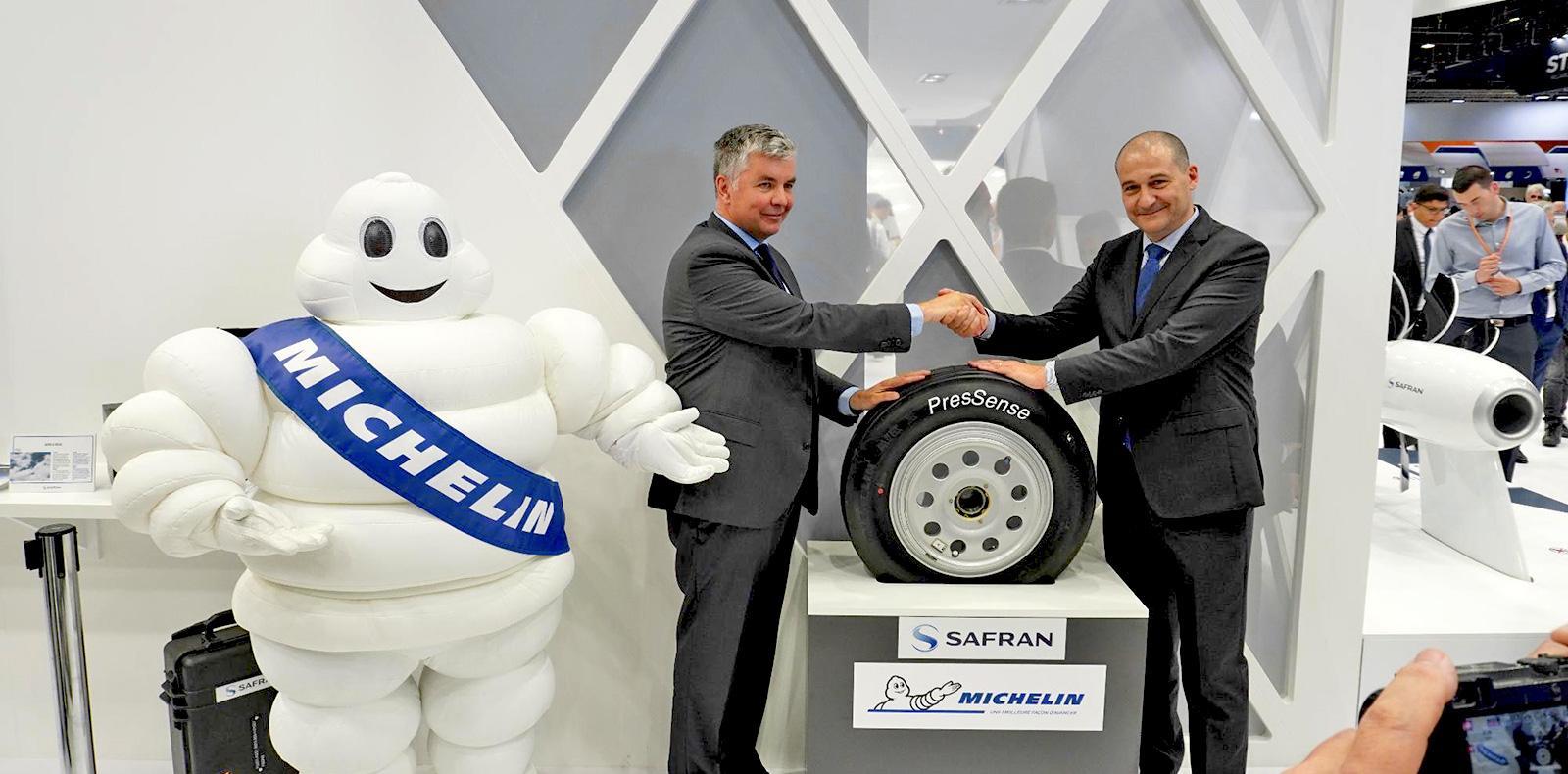 Авиашины с технологией PresSense от Michelin и Safran Landing Systems прошли летные испытания