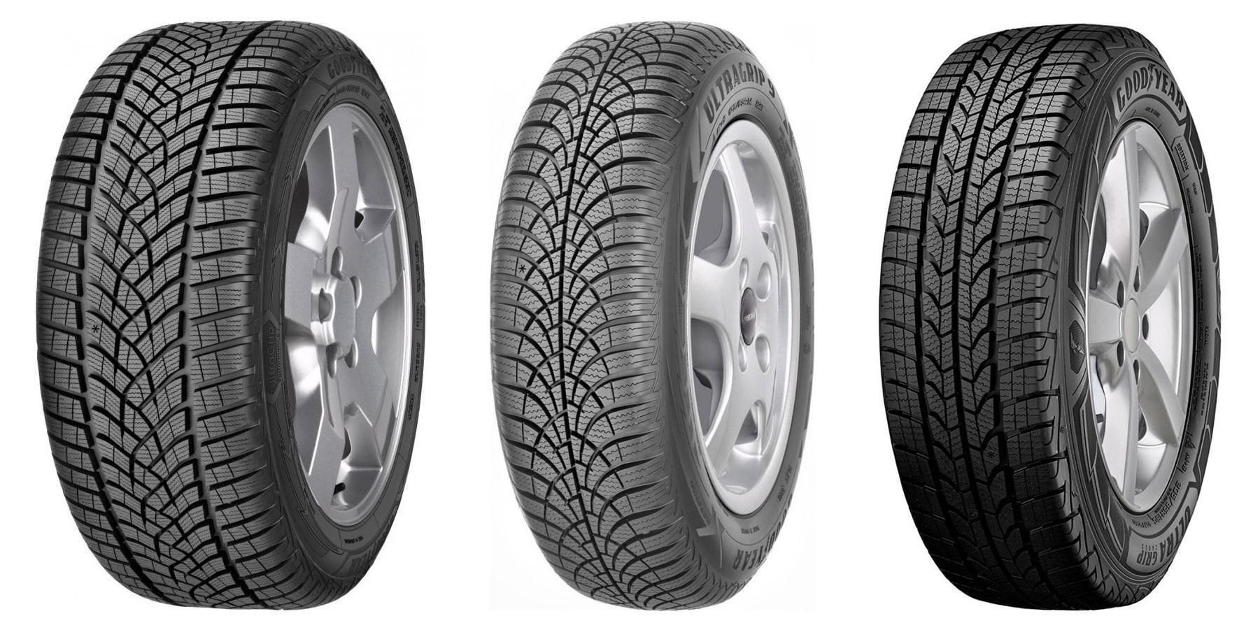 Goodyear запускает обновленную линейку зимних шин серии UltraGrip