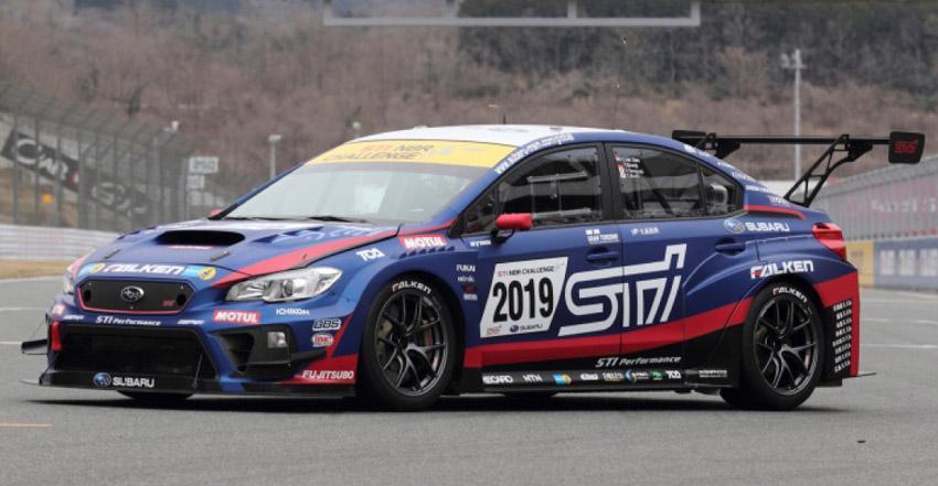 Sumitomo Rubber предоставит свои шины Falken для обновленного спорткара Subaru WRX STi