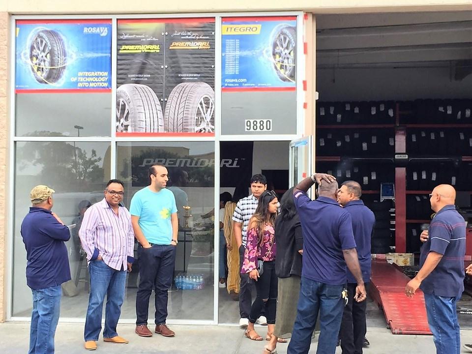 В Калифорнии начали продавать украинские шины