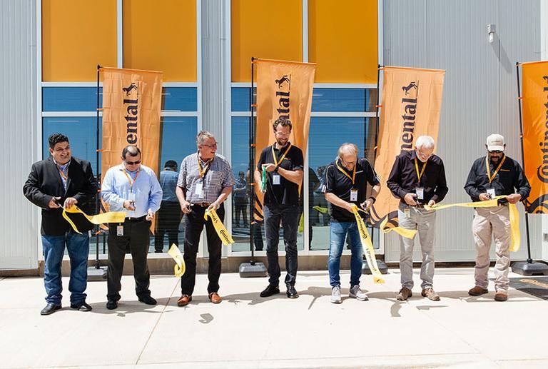 В Техасе открыли новый крытый центр тестирования шин Continental