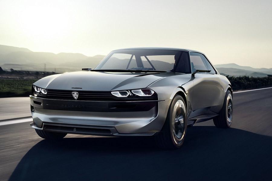 Peugeot готов запустить в серию купе e-Legend