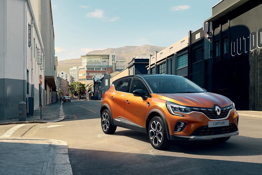 Обновился европейский Renault Captur